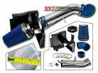 "4"" BLUE GMC/Chevy V8 4.8L/5.3L/6.0L Heat Shield Cold Air Intake System + Filter"