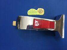 217/00051/00 Chrome Door Handle for Washer w/ Red Button Silver 2170005100 Ipso