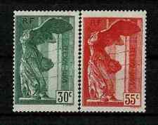 "FRANCE YVERT 354/55 SCOTT B66-67 "" WINGED VICTORY SAMOTHRACE 1937 "" MNH VF V247"