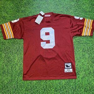 100% Authentic Sonny Jurgensen Mitchell & Ness 1974 Redskins Jersey Size 50 Mens