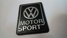 VW Golf 2 VW Motorsport Heckemblem silber G60 GTI Tuning Limited Edition Emblem