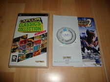 CAPCOM CLASSICS COLLECTION REMIXED PARA LA SONY PSP USADO EN BUEN ESTADO