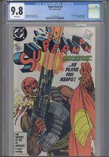 Superman #4 CGC 9.8 1987 DC John Byrne 1st App Bloodsport (DuBois): New Frame