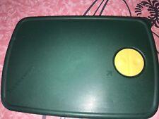 "TUPPERWARE ~ Rock N Serve Microwave #3382 Green Replacement Lid 11 2/8"" x 7 6/8"""
