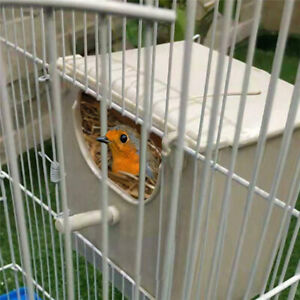 Bird Breeding Nest Box Cage For Parrot Budgie Nesting House Lovebirds Finch