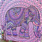 Boho parete arazzo Spiaggia Copriletto telo MANDALA INDIANO Hippy tappetino