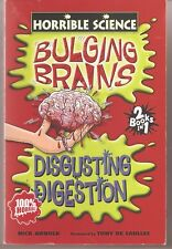 Bulging Brains and Disgusting Digestion by Nick Arnold two books in one