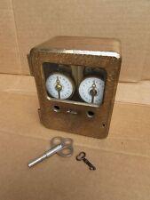 1916 Vintage MOSLER Bronze Brass Double Safe Lock