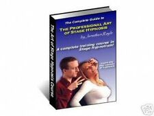 Secrets of Professional STAGE HYPNOSIS Exposed - Comprehensive Training Course