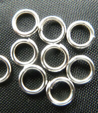 Wholesale Free Ship 1000pcs silver plated jump ring 5mm