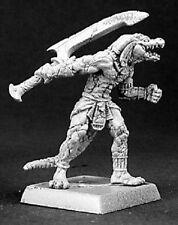 Devourer of Ammat Nefsokar Reaper Miniatures Warlord Lizardman Fighter Melee