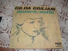 """GILDA GIULIANI """" AMORE - NOTTE """" ITALY'76"""