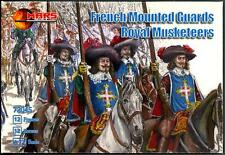 Mars Figures 1/72 FRENCH MOUNTED GUARDS ROYAL MUSKETEERS Figure Set