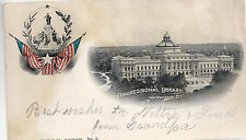 Congressional Library   Washington DC   Private Mailing Card UDB 11034