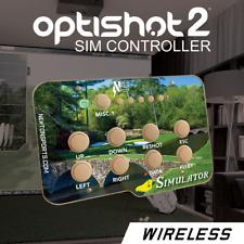 Optishot 2, golf simulator, controller. THE MASTERS.