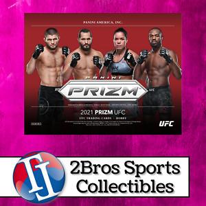 2021 UFC Prizm 3 Hobby Box Quarter Case Break 6/22 5pm CST - Brian Ortega