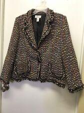 Carlucci Ladies Size 16 Dressy Jacket
