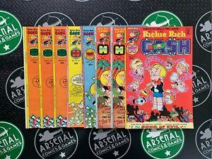 RICHIE RICH CASH Lot of 30! (#3-47) Harvey Bronze Age Comics 1975-1982