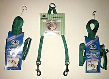 Sheppard & Greene Ferret - 2 Harness / Lead Sets+Tandem Coupler - Green