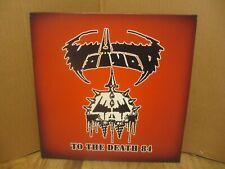 VOIVOD To The Death  84 2 LP SET BROWN GREY VINYL