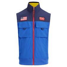 $198 NWT POLO RALPH LAUREN Men's Hi Tech Hybrid Vest Jacket CP 93 Stadium Medium