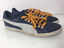 Puma Benecio Vintage Trainers In Navy Blue. Good Condition. UK 7