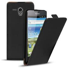Flip Up Case for Huawei Ascend G300 Slim Cover Shockproof PU Leather Bag Shell