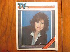 Aug. 23, 1987 Minneapolis Star Tribune TV Week Mag(DIANA CANOVA/SCOTT VALENTINE)