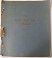 1934 A Marin Sketch Book 1934   By Clare Marryat