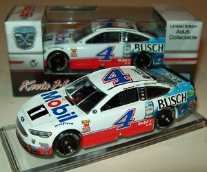 Kevin Harvick 2018 Mobil 1 Busch Beer #4 Ford Fusion 1/64 NASCAR Diecast