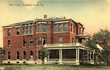 The New Corry Hospital in Corry PA 1910