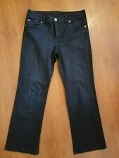 KUT from the Kloth size 12 x 30 Dark Wash Stretch Jeans Button Flap Pockets