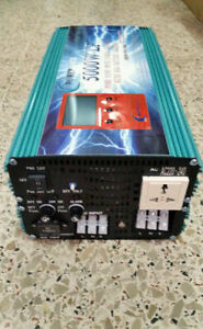 PURE WAVE INVERTER CONVERTER FROM 12V DC TO 220V 5000W WITH 20000W UPS CHARGER