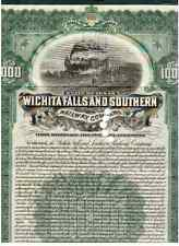 Wichita Falls and Southern Railway Company  1908