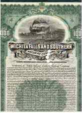 Wichita Falls and Southern Railway Company  1908