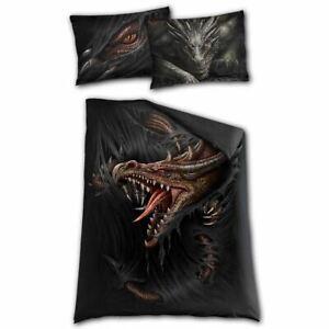 Spiral Direct Majestic Draco Dragon Gothic Single Bedding Set
