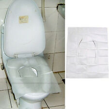 10pcs Disposable Toilet Seat Covers  Flushable Paper Hygienic Travel New