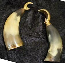 Vintage 1950's Danish Horn & Brass Bottle and Can Openers Denmark