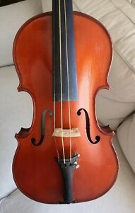 Nice old French Mirecourt violin, violon, geige CAREL by LABERTE-HUMBERT, 1930