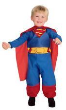 TODDLERS SUPERMAN SUPER HERO CAPE COSTUME DRESS 2-4T RU885623T