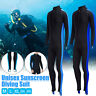 Womens/Mens Full Body Wetsuit Diving Snorkeling Surfing Scuba Swimming Jumpsuit