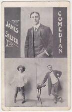 James Salter Comedian, Leeds Theatre / Music Hall Postcard B869