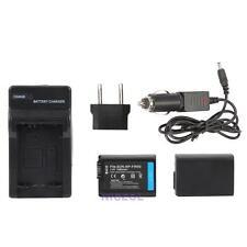 2x NP-FW50 1080mAh Batteries+Chargers+Adapter for Sony NEX-3N NEX-5T NEX-6 NEX-7