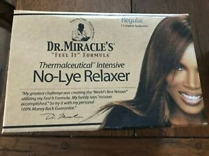 Dr. Miracle's No-Lye Relaxing Kit Regular.