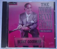 The Immortal Benny Goodman The Big Bands  CD FREE 1ST CLASS MAILING