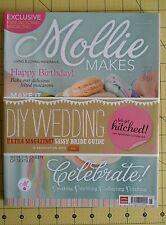 Magazine crafts Mollie Makes issue 14  wedding issue