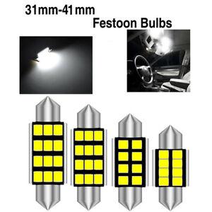 Car LED Bulbs Festoon CANBUS Error Free Sidelight Interior Dome Trunk C5W Light