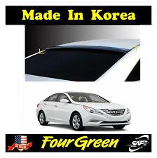 Black Rear Roof Window Spoiler Wing Visor Vent for Hyundai Sonata 2011-2017����� (Fits: Hyundai)