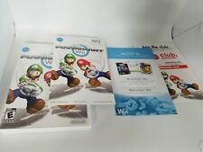 MarioKart Nintendo Wii Replacement Case/Manual and Inserts Only. NO GAME.