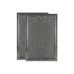 COMPATIBLE GE AP3185629 GREASE MESH MICROWAVE OVEN FILTER REPLACEMENTS (2 PACK)